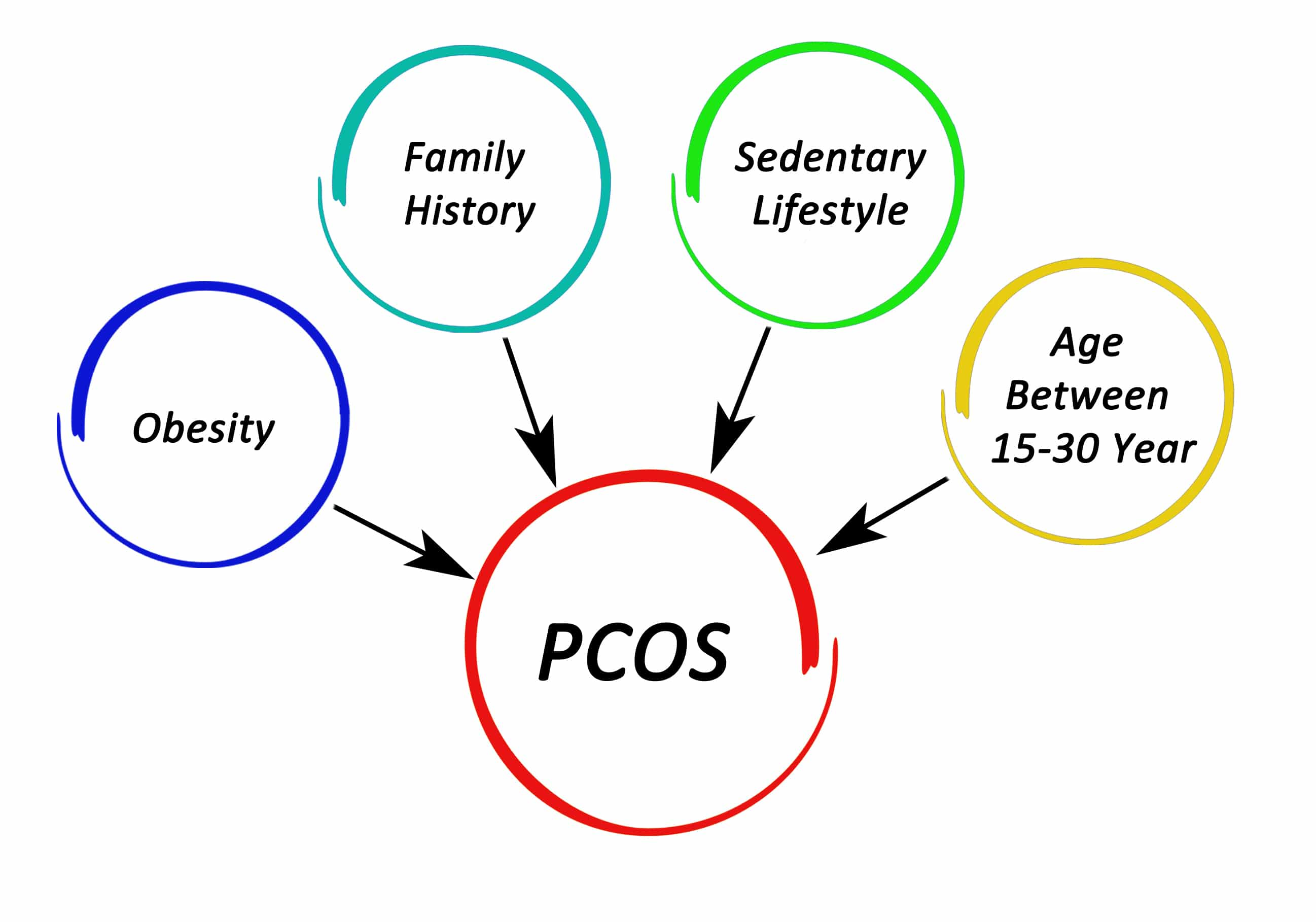 polycystic ovarian syndrome contributing factors