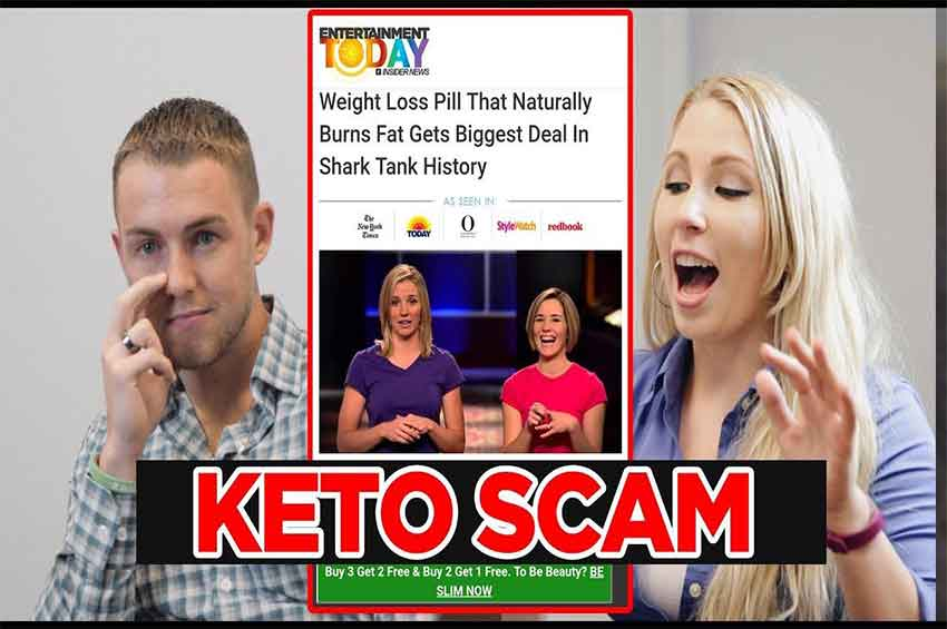 "Keto Scam on ""Shark Tank"" and Instagram"