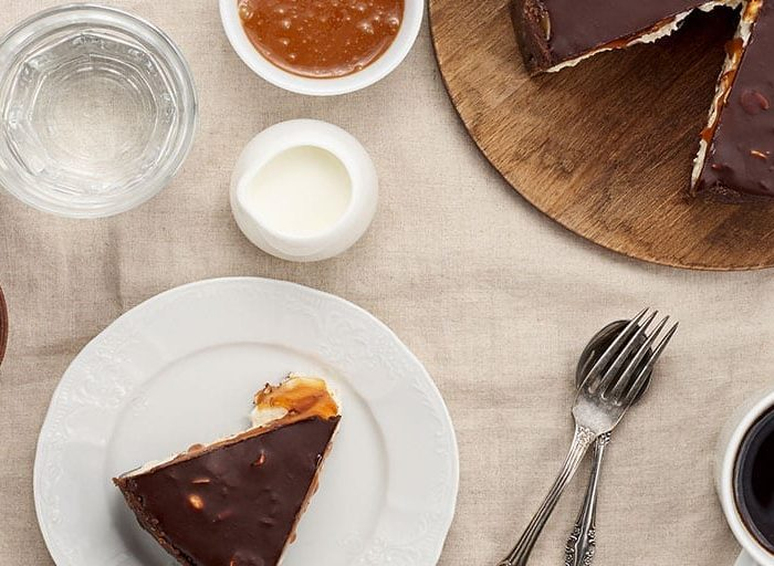 Keto Peanut Butter and Chocolate Pie