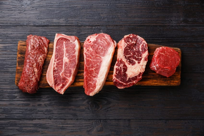 red meat consumption