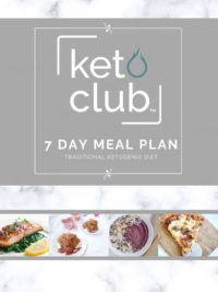 traditional 7 day keto diet meal plan