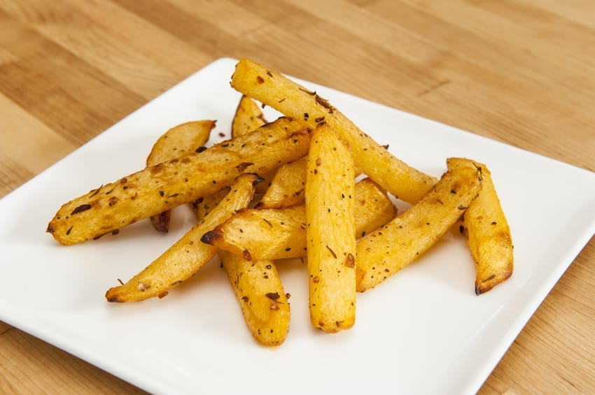Low Carb Fries (Rutabaga Keto French Fries)