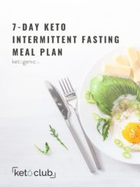 7 day fasting meal plan