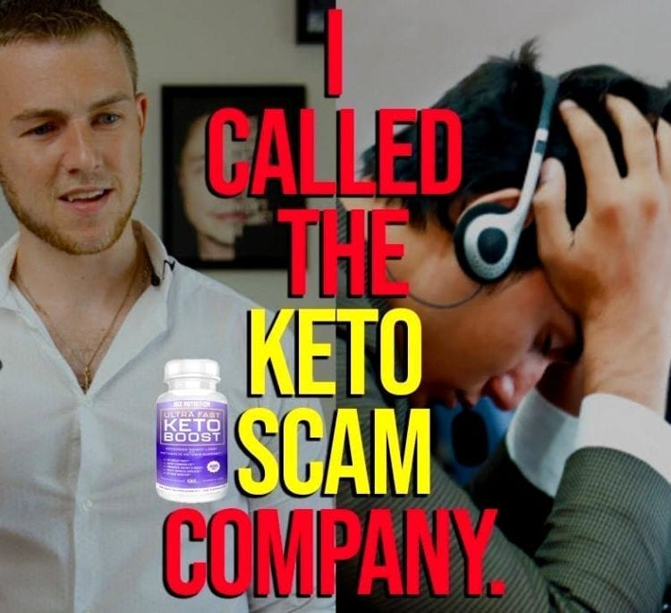 Keto Diet Pills Scandal: Calling the Keto Scam Company