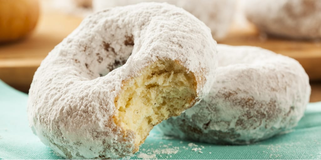 Keto Powdered Donuts