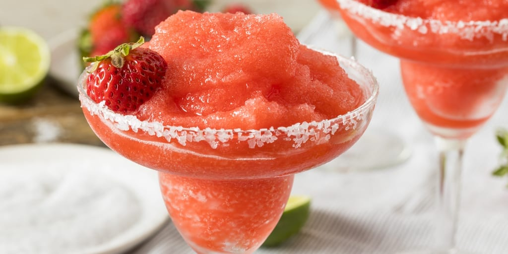 Keto Strawberry Daiquiri