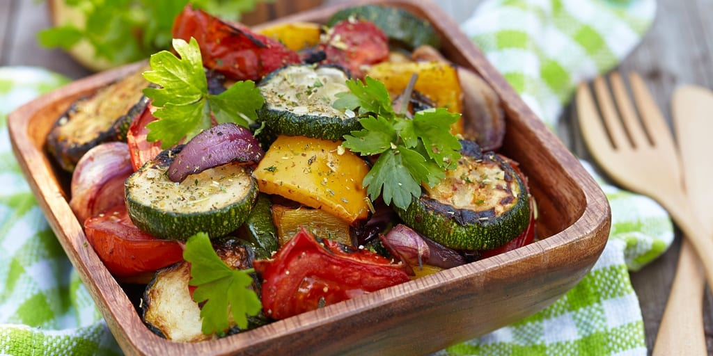 low carb roasted vegetables