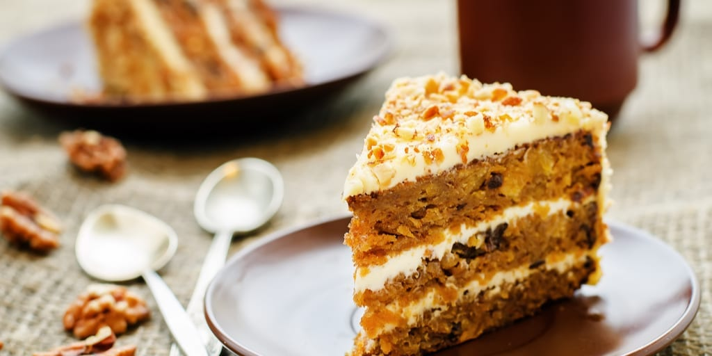 Keto Carrot Cake with Salted Caramel Frosting
