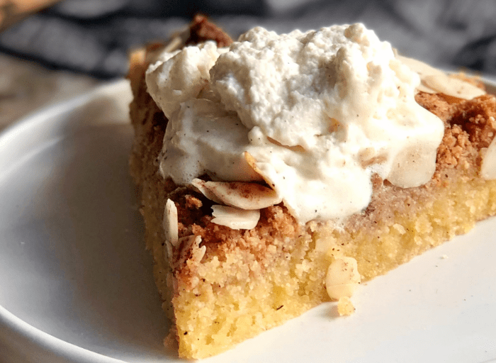 low carb apple pie